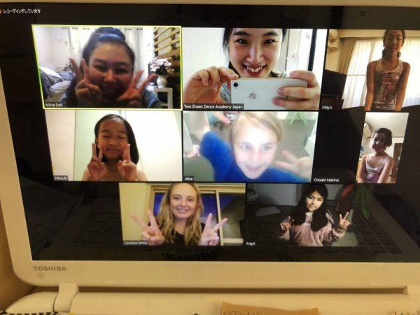 メルボルン校コラボオンラインレッスン Collaborative Online Classes with TSDA Australia