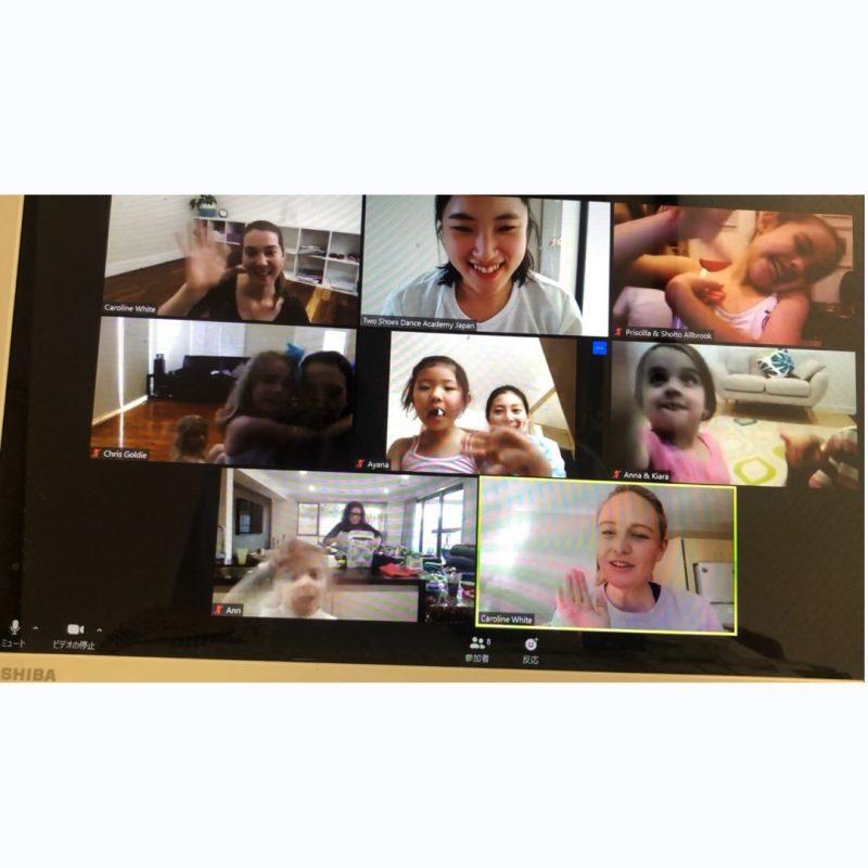 メルボルン校コラボオンラインレッスン Collaborative Online Classes with TSDA Australia ②